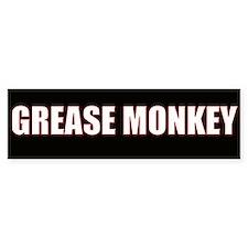 Grease Monkey Bumper Bumper Sticker
