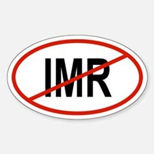 IMR Oval Decal