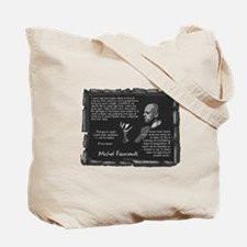 Only Dead Fish Tote Bag