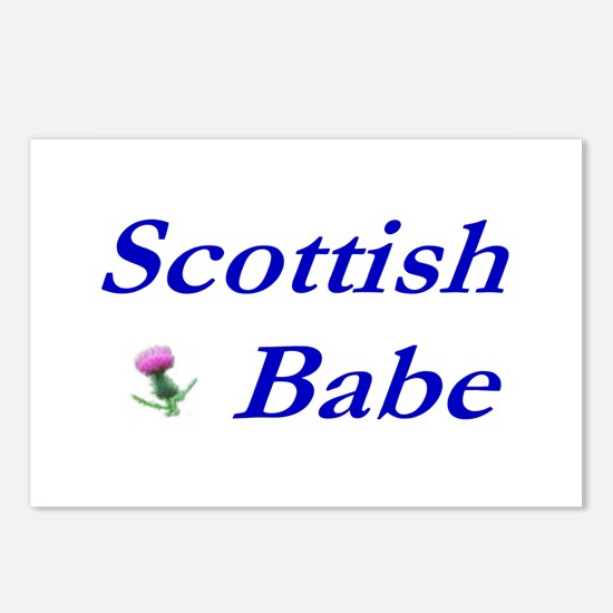 Scottish Babe Postcards (Package of 8)