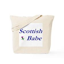 Scottish Babe Tote Bag