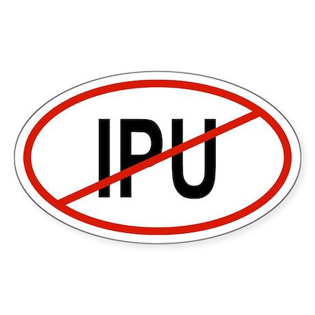 IPU Oval Sticker