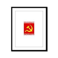 People's Republic of Sacramen Framed Panel Print