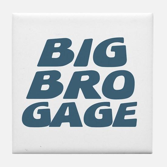 Big Bro Gage Tile Coaster