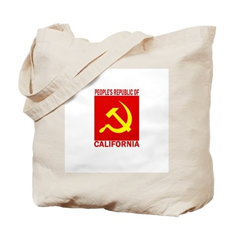 People's Republic of Californ Tote Bag