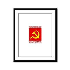 People's Republic of Californ Framed Panel Print