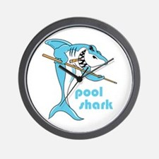 Pool Shark Wall Clock