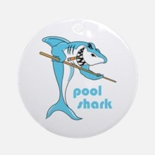Pool Shark Ornament (Round)
