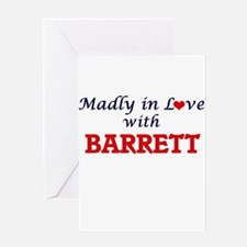 Madly in love with Barrett Greeting Cards