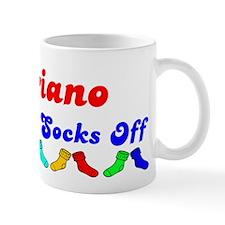 Mariano Rocks Socks (B) Mug