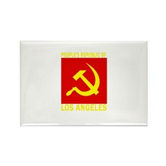 People's Republic of Los Ange Rectangle Magnet (10