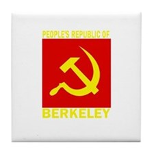 People's Republic of Berkeley Tile Coaster