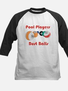 Pool Players Bust Balls Tee