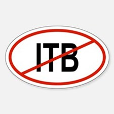 ITB Oval Decal