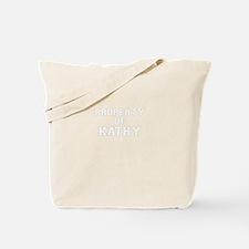 Property of KATHY Tote Bag
