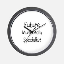 Future Multimedia Specialist Wall Clock