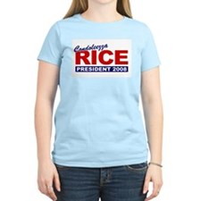 Condoleezza Rice 2008 Women's Pink T-Shirt