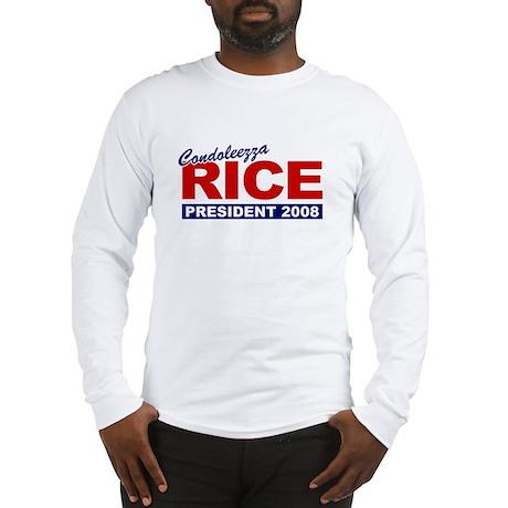 Condoleezza Rice 2008 Long Sleeve T-Shirt