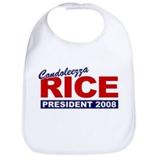 Condoleezza Rice 2008 Bib