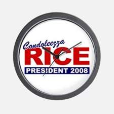 Condoleezza Rice 2008 Wall Clock