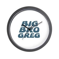 Big Bro Greg Wall Clock