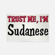 Trust Me I'm a Sudanese Rectangle Magnet