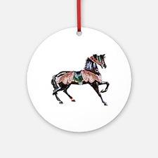 Carousel Horse Keepsake (Round)