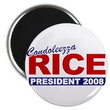 Condoleezza Rice 2008 Magnet