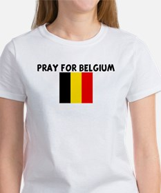 PRAY FOR BELGIUM Tee