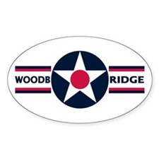 RAF Woodbridge Oval Decal