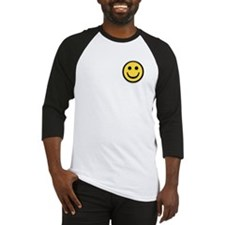 Classic Yellow Smiley Face Baseball Jersey