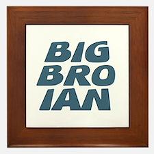 Big Bro Ian Framed Tile