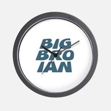 Big Bro Ian Wall Clock