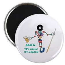 Pool: 90% Mental 10% Physical Magnet