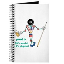 Pool: 90% Mental 10% Physical Journal