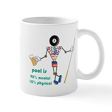 Pool: 90% Mental 10% Physical Mug