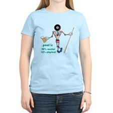 Pool: 90% Mental 10% Physical T-Shirt