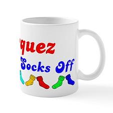 Marquez Rocks Socks (B) Mug