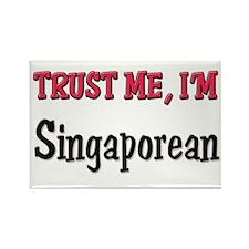 Trust Me I'm a Singaporean Rectangle Magnet