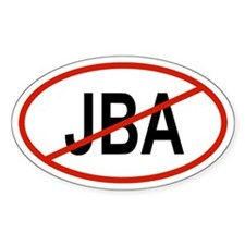JBA Oval Decal
