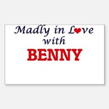 Madly in love with Benny Decal