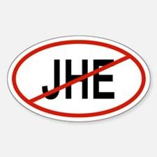 JHE Oval Decal