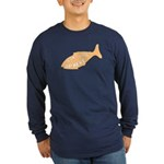 Don't Look Up Here Long Sleeve Dark T-Shirt