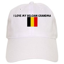 I LOVE MY BELGIAN GRANDMA Baseball Cap