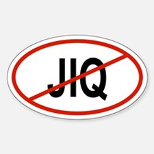 JIQ Oval Decal
