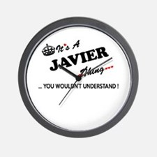 JAVIER thing, you wouldn't understand Wall Clock