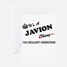 JAVION thing, you wouldn't understa Greeting Cards