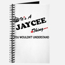 JAYCEE thing, you wouldn't understand Journal