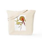 Vintage Cardinal Reusable Grocery/Tote Bag