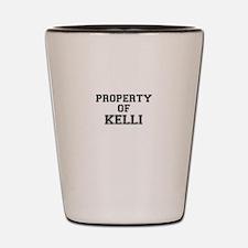Property of KELLI Shot Glass